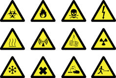 Signes de risque Image libre de droits