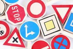 Signes de route Photo libre de droits