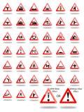 Signes de route Image libre de droits