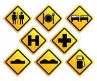 Panneaux routiers Images libres de droits