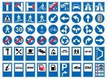 Signes de route Images stock