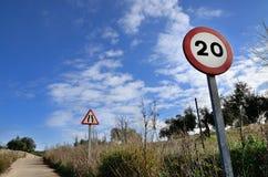 Signes de route Photos stock