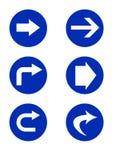 signes de route directionnels illustration de vecteur