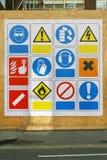 Signes de sécurité Image libre de droits