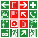 Signes de secours illustration de vecteur