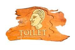 Signes de toilettes pour les hommes Photos stock