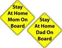 Signes de véhicule Photo stock