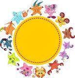Signes de vecteur de zodiaque illustration libre de droits