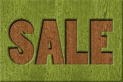 Signes de vente Photo stock