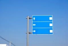 Signes de voyage Images libres de droits