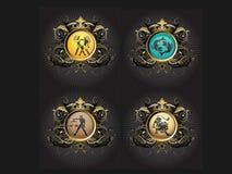 Signes de zodiaque Image stock