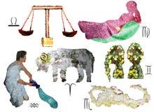 Signes de zodiaque Photos stock