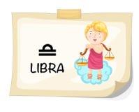 Signes de zodiaque - Balance illustration de vecteur