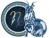 Signes de zodiaque - Capricorne Photographie stock