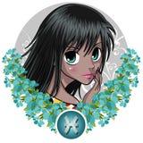 Signes de zodiaque - Poissons Images stock