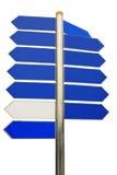 Signes directionnels Images stock