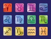 Signes du zodiaque Image stock