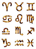 Signes du zodiaque Images stock