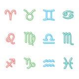 Signes du zodiaque Photo libre de droits