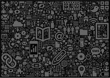 Signes et symboles illustration stock