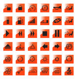 Signes importants Images stock