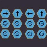 Signes mathématiques et chiffres Photographie stock
