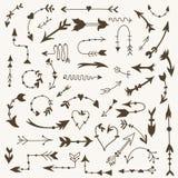 Signes tribals de flèche de vecteur Photographie stock