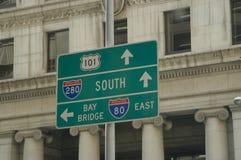 Signes urbains Photos libres de droits