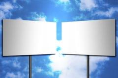 Signes vides Image libre de droits
