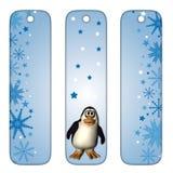 Signets avec le pingouin Images stock