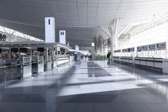 Signez contre à l'aéroport international de Haneda, Japon Photos stock