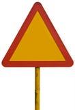 signez l'avertissement Image libre de droits