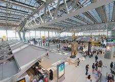 Signez le secteur de l'aéroport de Bangkok Images libres de droits