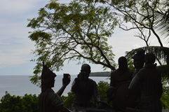 The Significant Blood Compact Site in Bohol Stock Photos