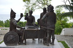 The Significant Blood Compact Site in Bohol Royalty Free Stock Photography