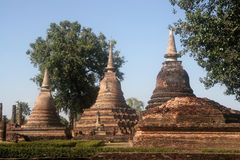 Significant historical complex, Sukhothai Stock Photography