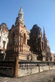Significant historical complex, Sukhothai Royalty Free Stock Photography