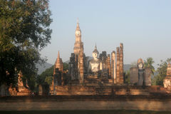 Significant historical complex, Sukhothai Stock Photo