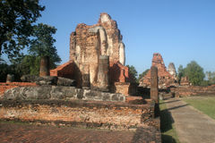 Significant historical complex, Sukhothai Royalty Free Stock Photos