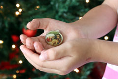 Signification vraie de Noël Photographie stock libre de droits