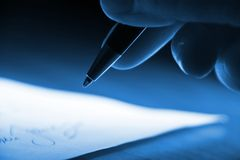 Free Signing The Contract Stock Photography - 3821372