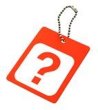 Signo de interrogación Imágenes de archivo libres de regalías