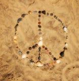 Signo de la paz foto de archivo