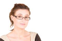 Signora #100 di affari Immagine Stock