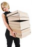 Signora #27 di affari Fotografie Stock Libere da Diritti