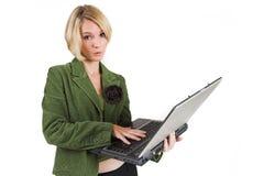 Signora #6 di affari Immagine Stock