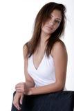 Signora abbastanza giovane Fotografia Stock