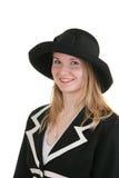 Signora abbastanza giovane in Dott. convenzionale Fotografie Stock