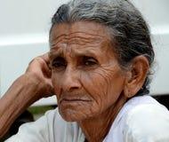 Signora anziana Fotografie Stock Libere da Diritti