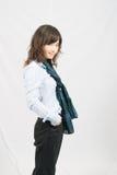 Signora asiatica Portrait dell'ufficio Fotografie Stock